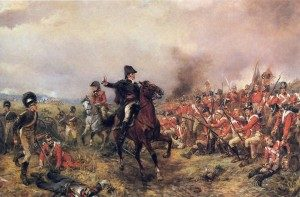 Duke Wellington at Waterloo riding a Gidden saddle