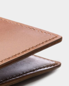 W & H Gidden leather goods