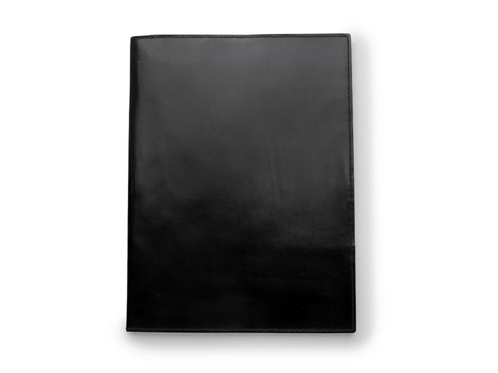 Black Conference Folder by W & H Gidden