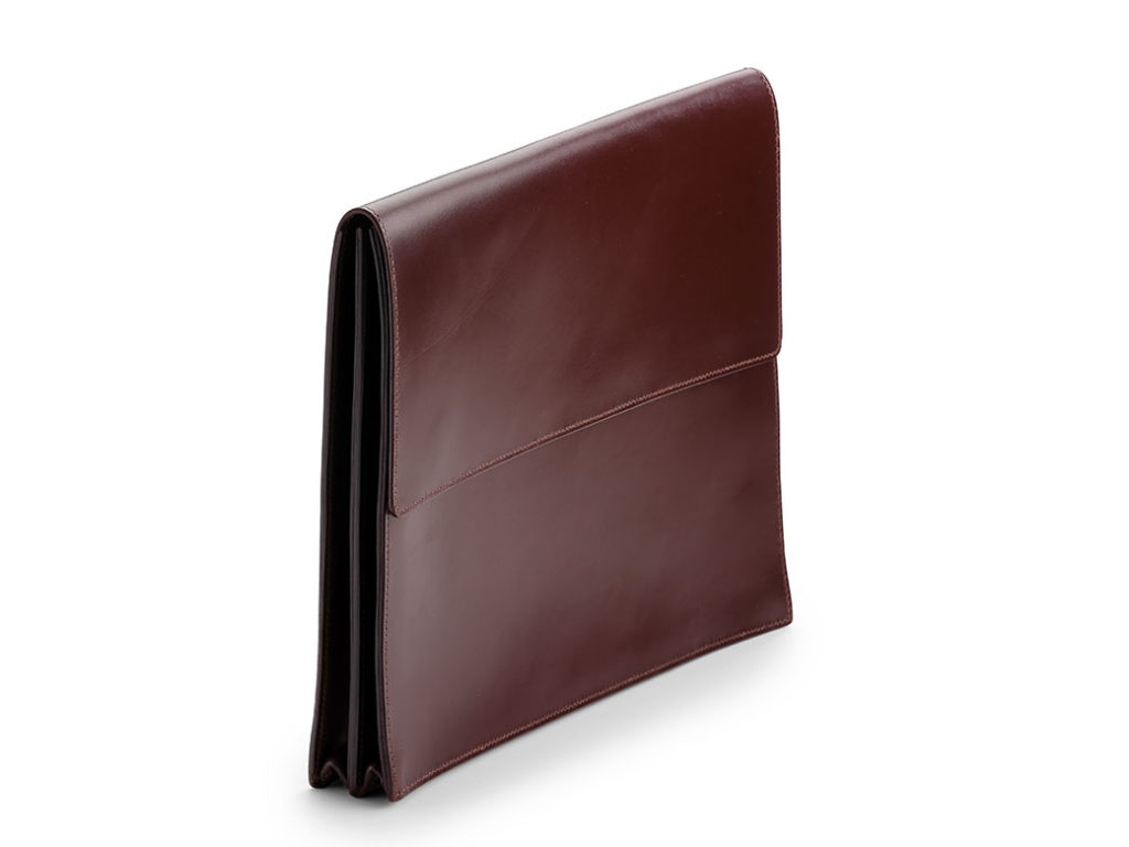Brown Document Case by W & H Gidden