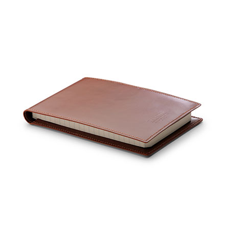 W & H Gidden Handcrafted Leather Notebook