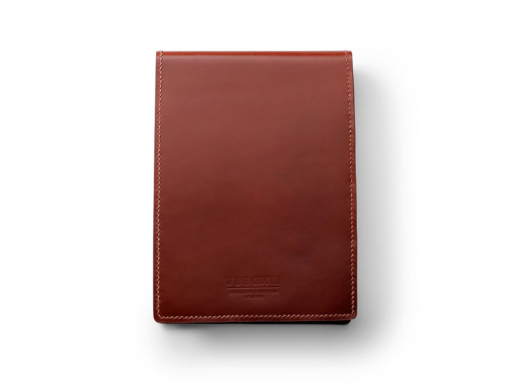 Brown Jotter Pad by W & H Gidden