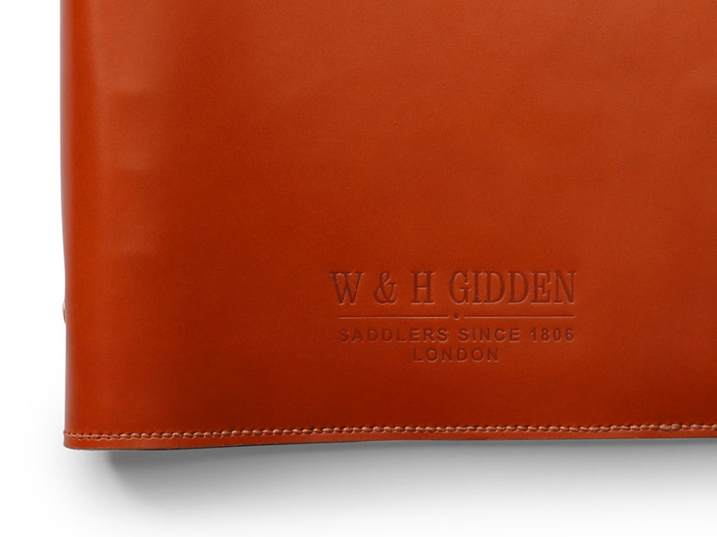 W & H Gidden Notebook detail