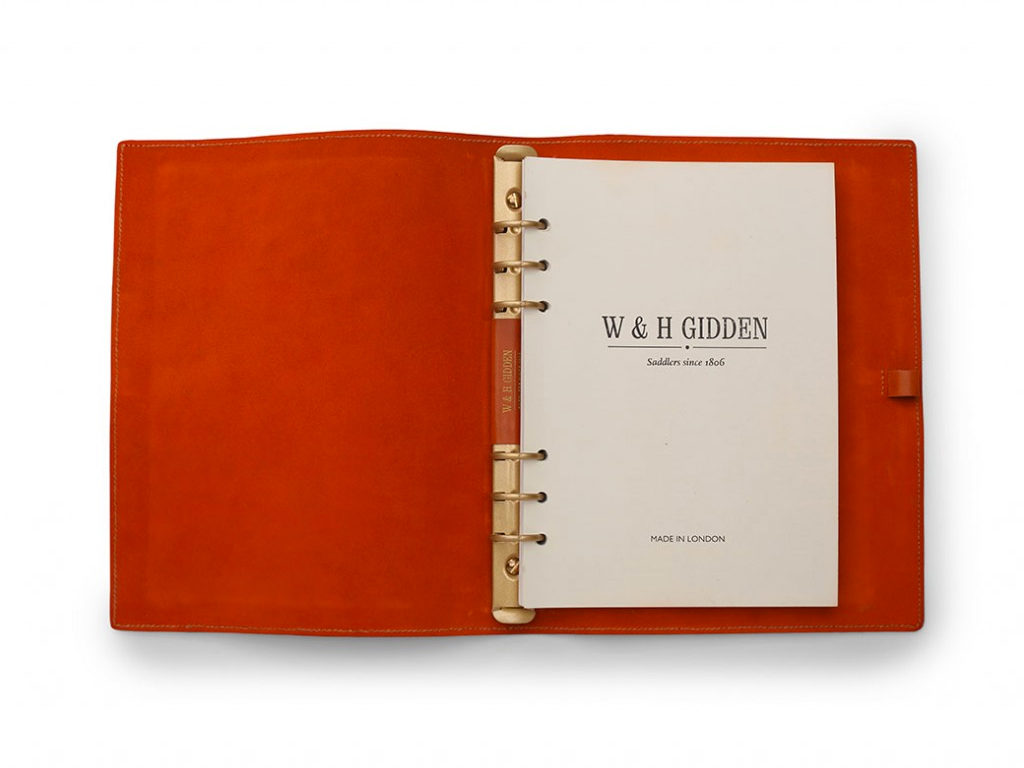 W & H Gidden Notebook